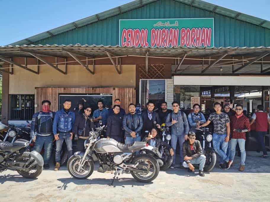 gpx brotherhood at cendol durian borhan
