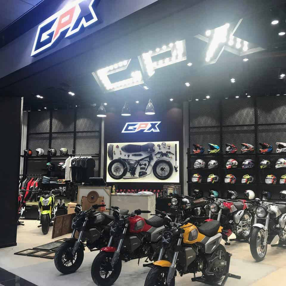 gpx cambodia bike mall cafe racer