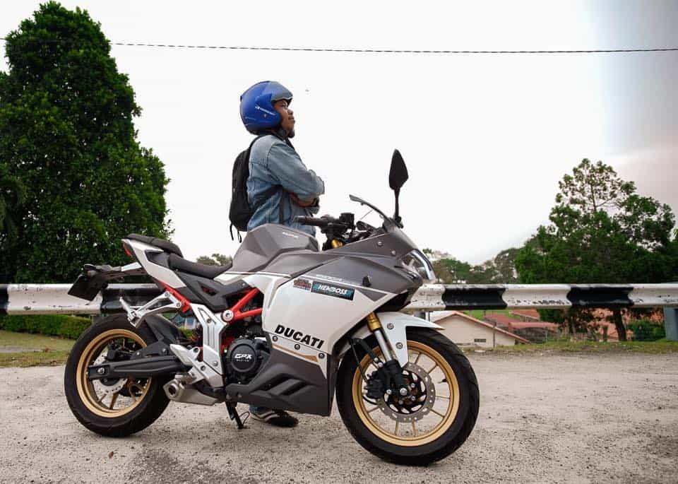 gpx demon 150gr batu pahat ride