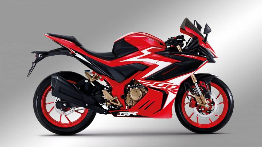 gpx demon gr200r colour red fire