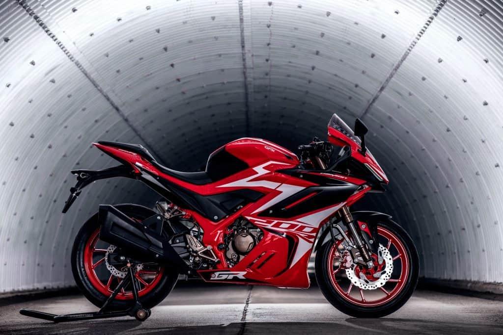 gpx demon gr200r tunnel red