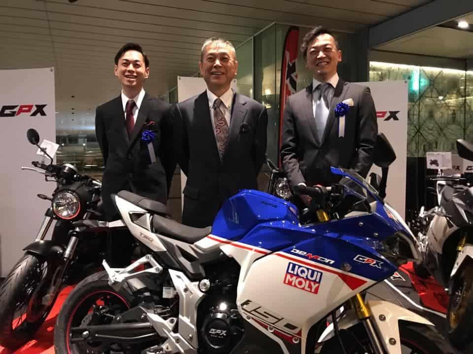 gpx japan launch jan 2019
