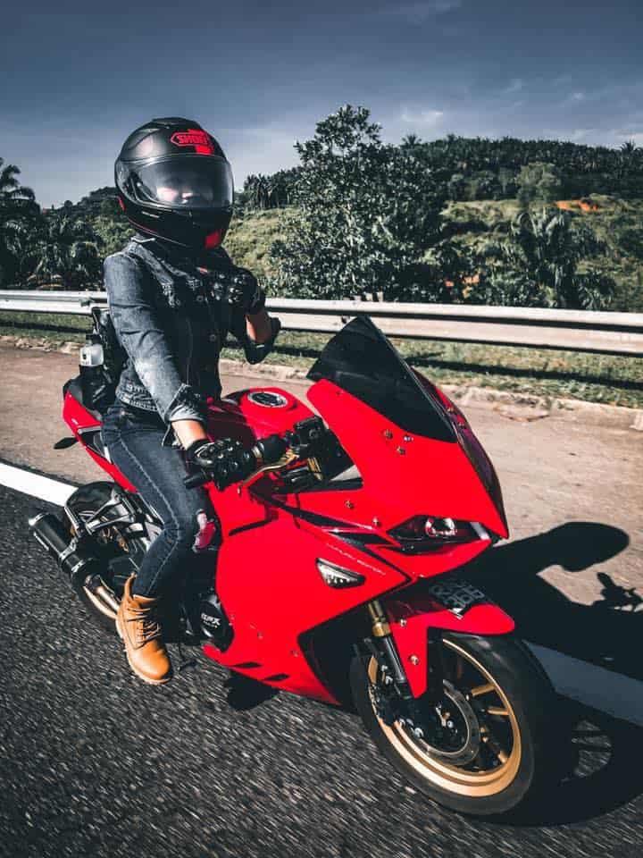 ipoh lady rider demon 150gr red